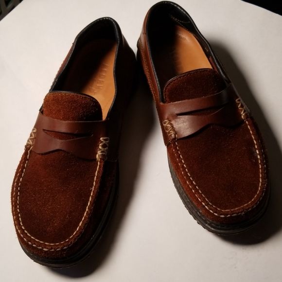 Acorn Other - Acorn Suede and Leather Loafers
